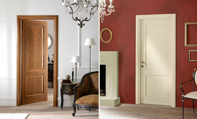 Right for Vetri decorati per porte interne classiche